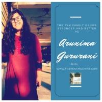 Guest Blogger - Arunima Gururani