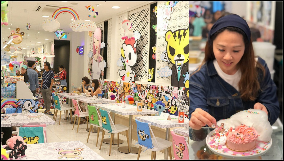 When I Met Little Miss Bento At World's First Kumoya Toki-doki Pop Up Cafe