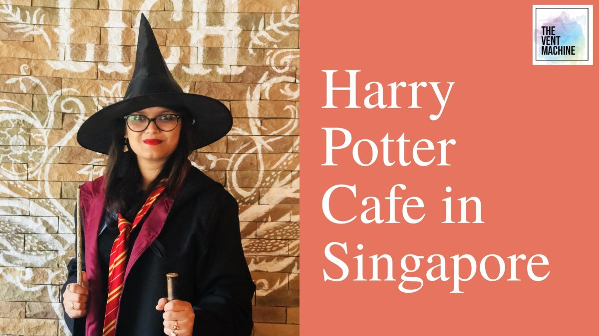 "Platform 1094 - The ""Almost"" Harry Potter Cafe in Singapore"